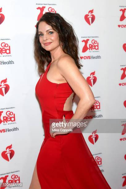 Kimberly WilliamsPaisley attends The American Heart Association's Go Red for Women Red Dress Collection 2020 at Hammerstein Ballroom on February 05...