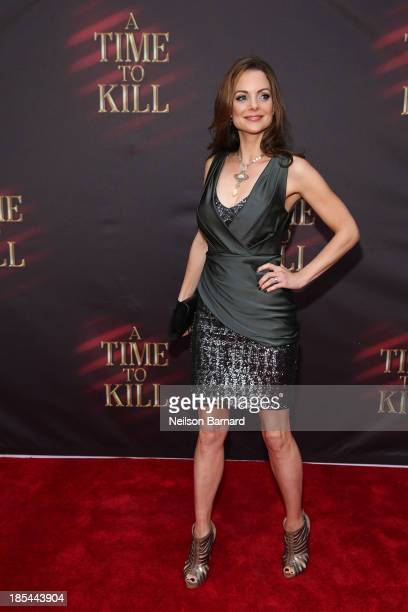 Kimberly WilliamsPaisley attends the Broadway opening night of A Time To Kill at The Golden Theatre on October 20 2013 in New York City