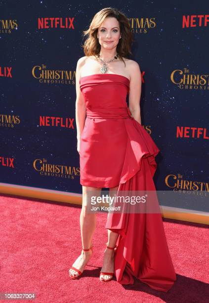 Kimberly WilliamsPaisley attends the premiere of Netflix's The Christmas Chronicles at Fox Bruin Theater on November 18 2018 in Los Angeles California