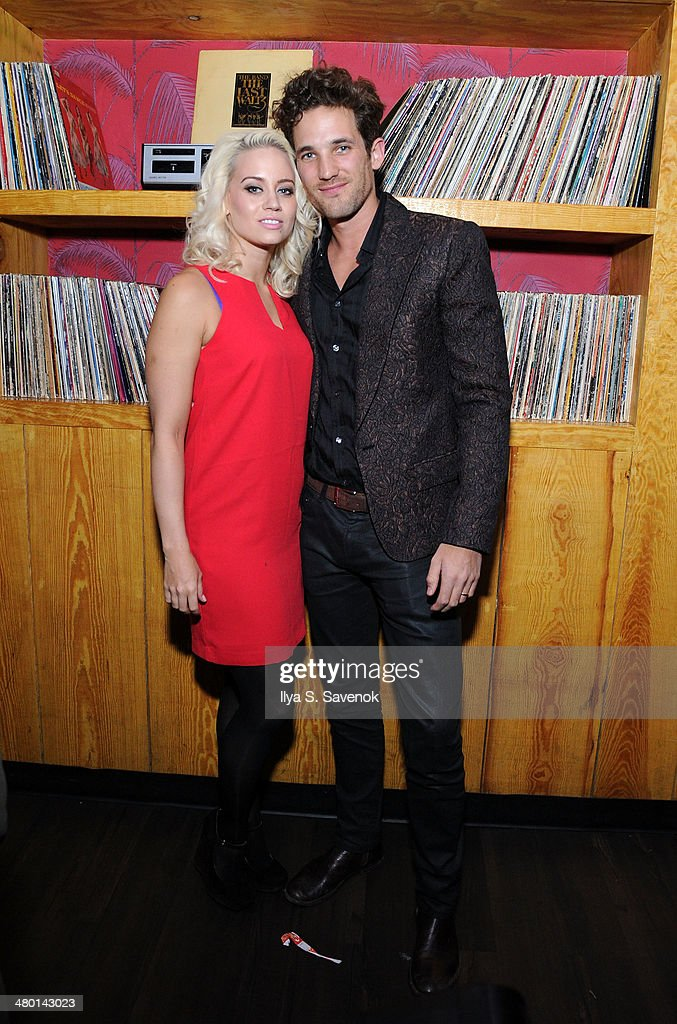 Kimberly Wyatt and Max Rogers attend 2nd Supermodel Saturday at No.8 on March 22, 2014 in New York City.