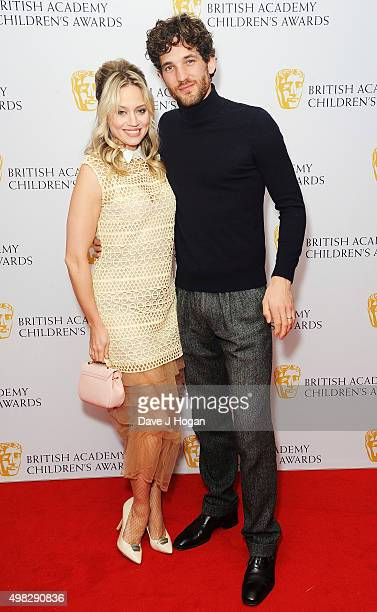 Kimberly Wyatt and Max Rogers attend the British Academy Children's Awards at The Roundhouse on November 22 2015 in London England