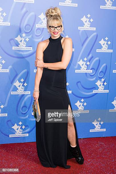 Kimberly Wyatt arrives for the National Lottery Awards 2016 at The London Studios on September 9 2016 in London England