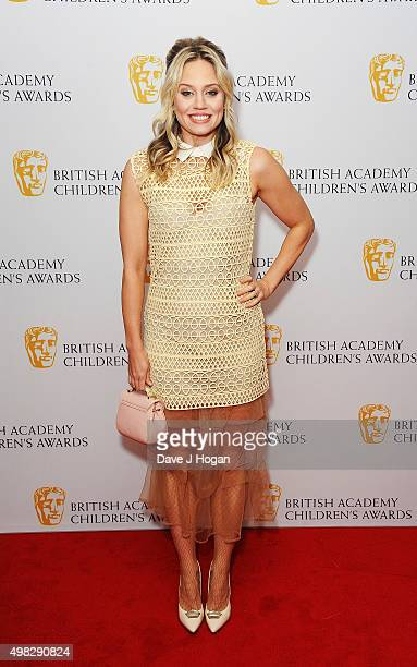 Kimberly Wyatt attends the British Academy Children's Awards at The Roundhouse on November 22 2015 in London England