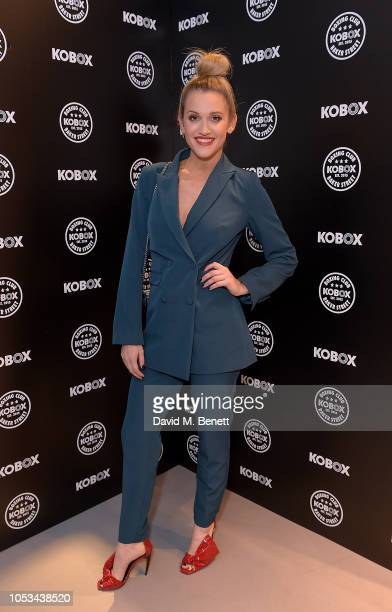 Kimberly Wyatt attends the KOBOX Baker Street studio launch on October 25 2018 in London England