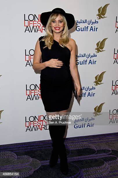 Kimberly Wyatt attends The London Lifestyle Awards at the Troxy on October 8 2014 in London England