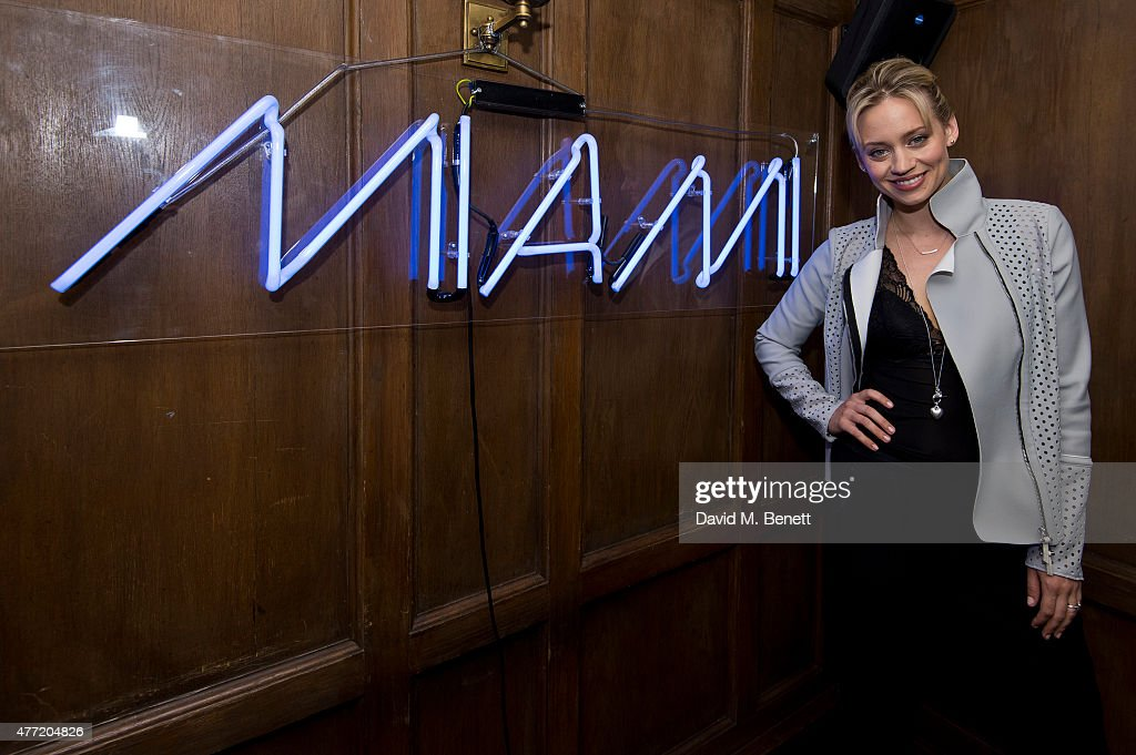 Kimberly Wyatt attends the Miami in London Party at Soho House on June 14, 2015 in London, England.
