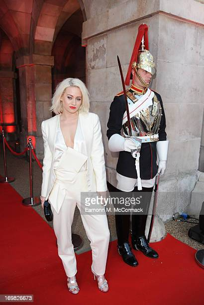 Kimberly Wyatt attends the Muse performance at the 'World War Z' World Premiere at Horse Guards Parade on June 2 2013 in London England