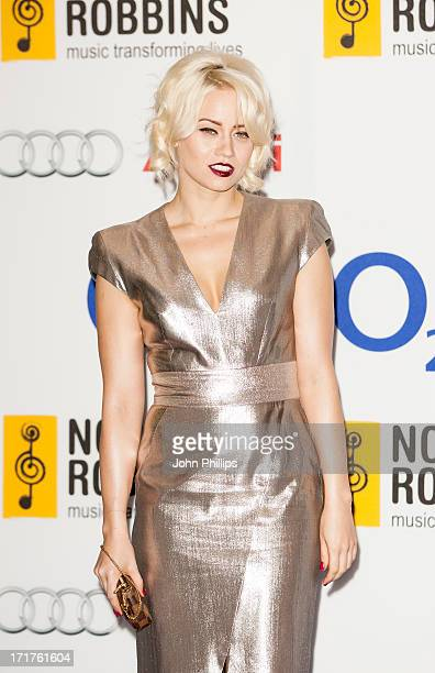 Kimberly Wyatt attends the Nordoff Robbins Silver Clef awards at London Hilton on June 28 2013 in London England
