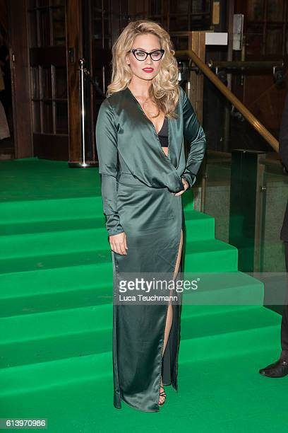 Kimberly Wyatt attends the Spectacle Wearer of the Year awards on October 11 2016 in London England