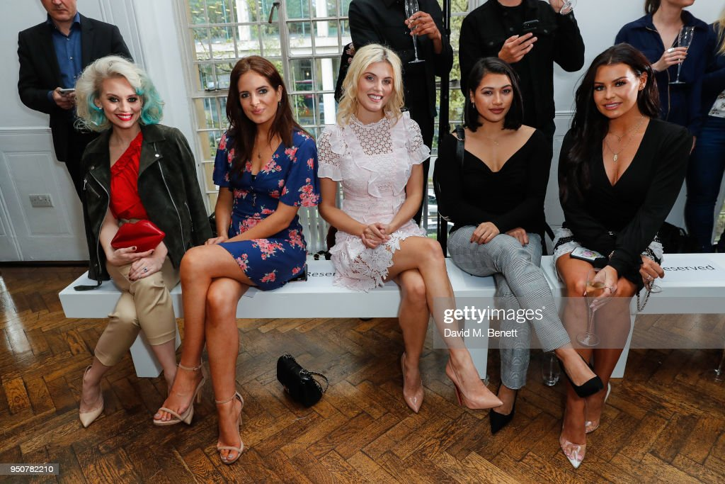 Michelle Keegan Catwalk Show for Very.co.uk - VIP Arrivals & Runway