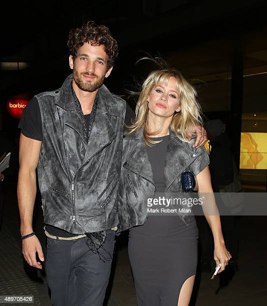 Kimberly Wyatt leaving the Cool Earth event at the Barbican on September 23 2015 in London England