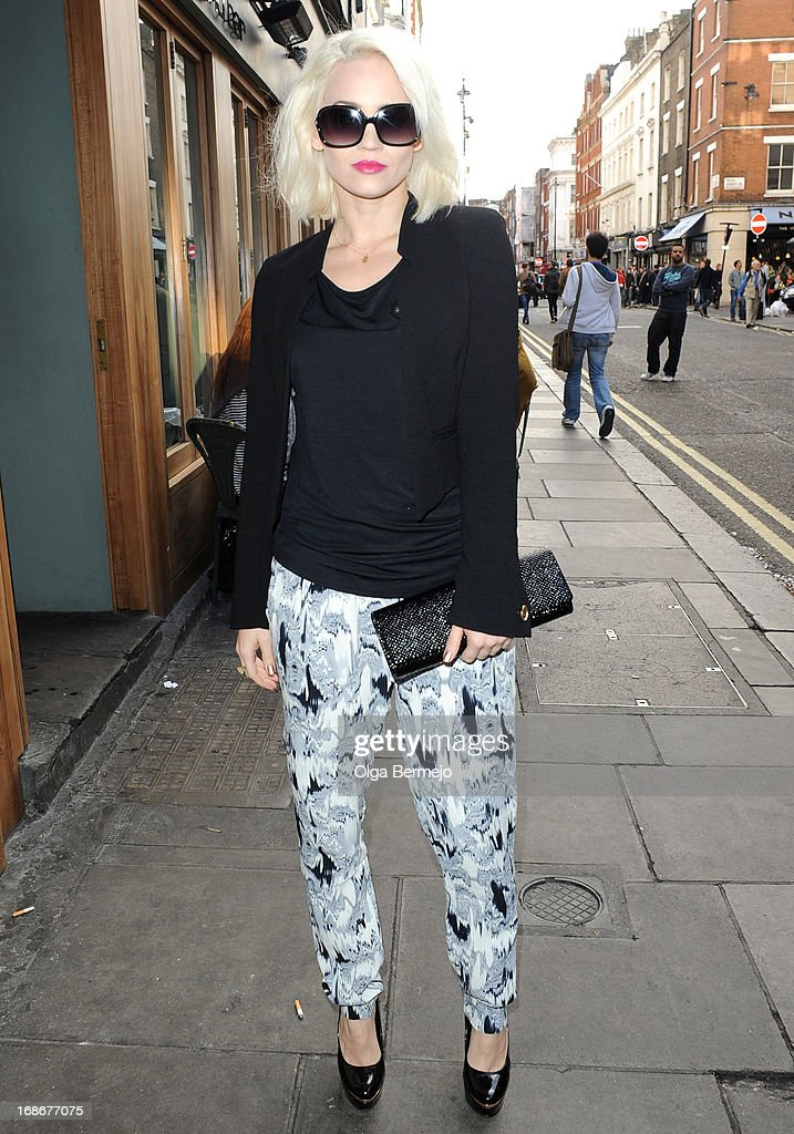 Kimberly Wyatt sighting on May 13, 2013 in London, England.
