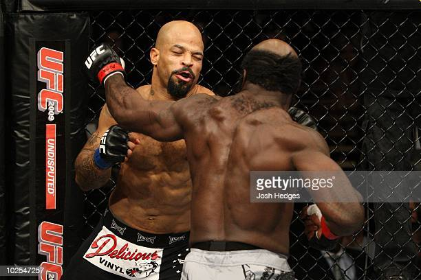 Kimbo Slice def Houston Alexander Unanimous Decision during The Ultimate Fighter 10 Finale at The Pearl at the Palms on December 5 2009 in Las Vegas...