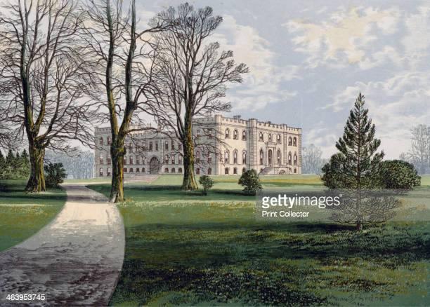 Kimbolton Castle Cambridgeshire late 19th century