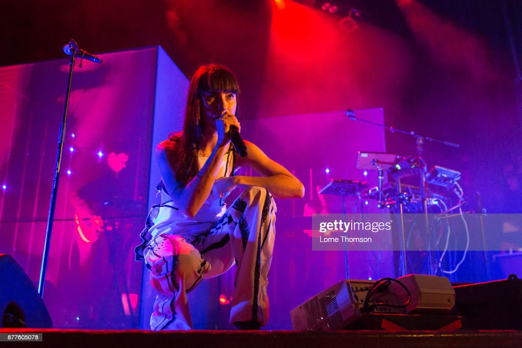 Kimbra performs at Islington Assembly Hall on November 22, 2017 in London, England.