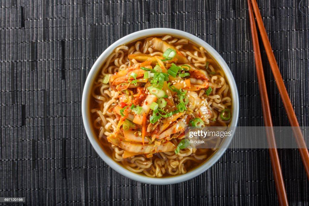Kimchee Ramen : Stock Photo