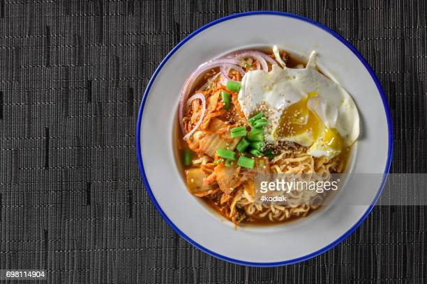 Kimchee Ramen with Fried Egg
