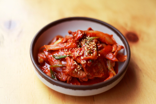 Kimchi fried pork,korea food - gettyimageskorea