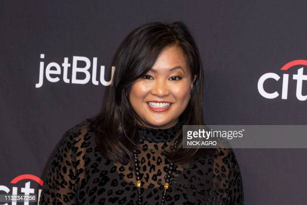 Kimee Balmilero arrives for the Paley Center for Media's 2019 PaleyFest 'Hawaii Five0' 'MacGyver' And 'Magnum PI' March 23 2019 at the Dolby Theater...