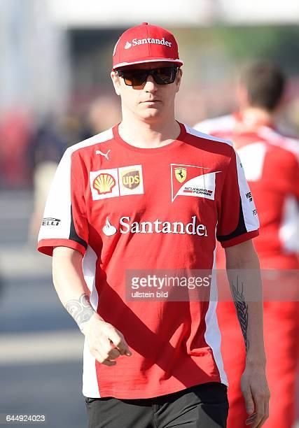 Kimi Raiikkoenen, Scuderia Ferrari, formula 1 GP, Spanien in Barcelona