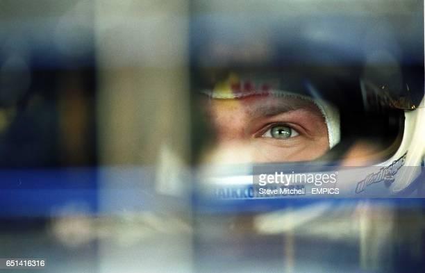 Kimi Raikkonen during practice at Hockenheim