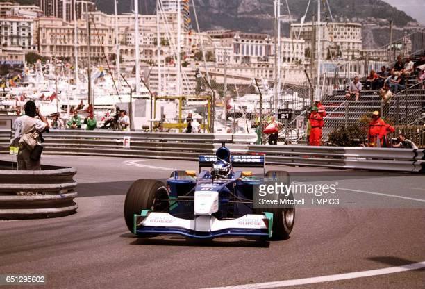 KImi Raikkonen during practice in Monaco