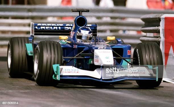 Kimi Raikkonen during Qualifying for the Monaco Grand Prix
