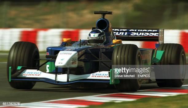 Kimi Raikkonen during Qualifying for the Spanish Grand Prix