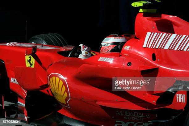 Kimi Raikkonen, Ferrari F2007, Grand Prix of Australia, Albert Park, Melbourne Grand Prix Circuit, 18 March 2007. 2007 Australian Grand Prix winner...