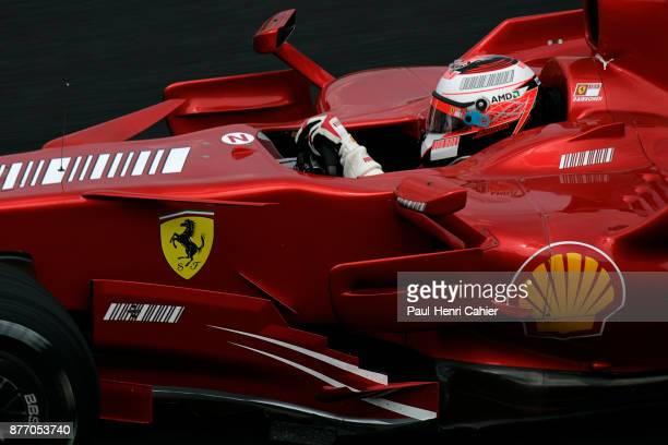 Kimi Raikkonen, Ferrari F2007, Grand Prix of Brazil, Autodromo Jose Carlos Pace, Interlagos, Sao Paolo, 21 October 2007. Kimi Raikkonen in the 2007...