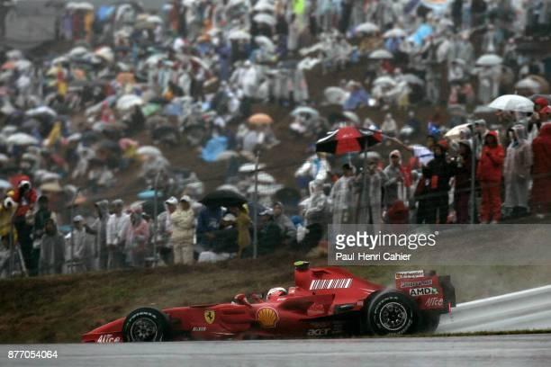Kimi Raikkonen, Ferrari F2007, Grand Prix of Japan, Fuji Speedway, 30 September 2007.
