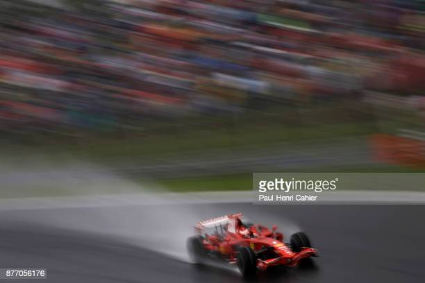 Kimi Raikkonen Ferrari F2008 Grand Prix of Italy Autodromo Nazionale Monza 14 September 2008