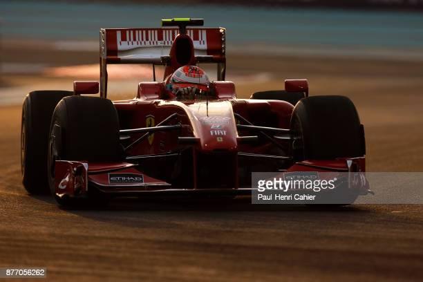 Kimi Raikkonen Ferrari F60 Grand Prix of Abu Dhabi Yas Marina Circuit 01 November 2009