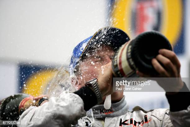 Kimi Raikkonen, Grand Prix of Belgium, Circuit de Spa-Francorchamps, 11 September 2005.