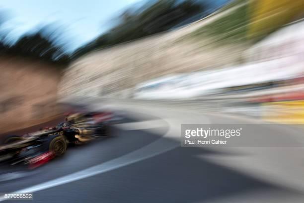 Kimi Raikkonen, Lotus-Renault E20, Grand Prix of Monaco, Circuit de Monaco, 27 May 2012. Kimi Raikkonen at speed iin the 2012 Monaco Grand Prix.