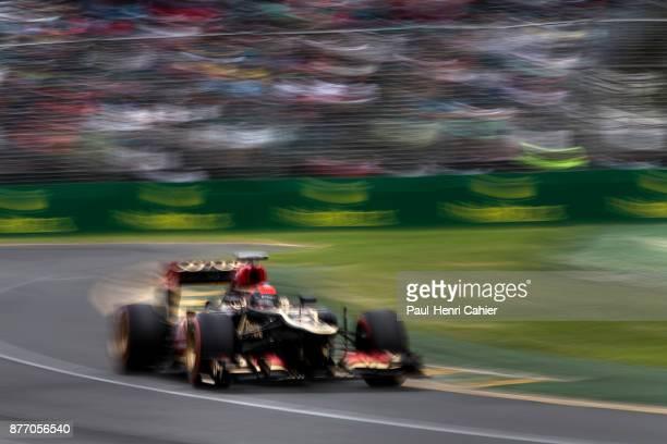 Kimi Raikkonen, Lotus-Renault E21, Grand Prix of Australia, Albert Park, Melbourne Grand Prix Circuit, 17 March 2013. Kimi Raikkonen's final win in...