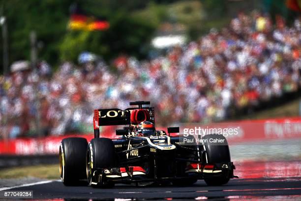 Kimi Raikkonen, Lotus-Renault E21, Grand Prix of Hungary, Hungaroring, 28 July 2013.