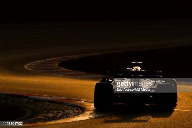 Kimi Raikkonen of Alfa Romeo Racing during day four of F1 Winter Testing at Circuit de Catalunya on March 1 2019 in Montmelo Spain
