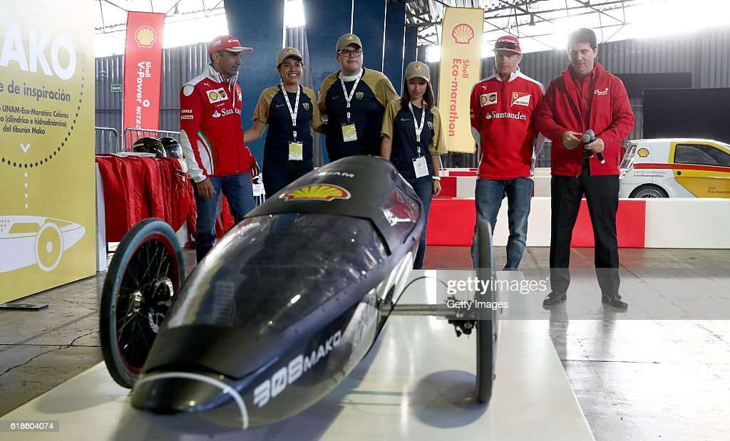 Shell at the F1 Grand Prix of Mexico : News Photo