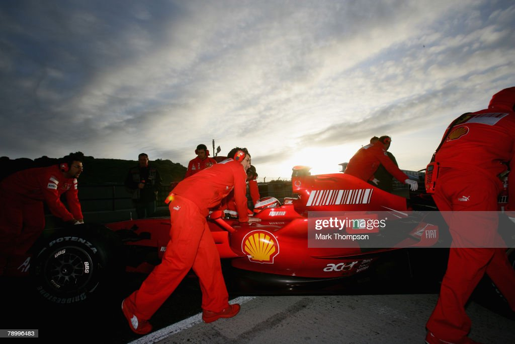 F1 Testing In Jerez - Day 2 : News Photo