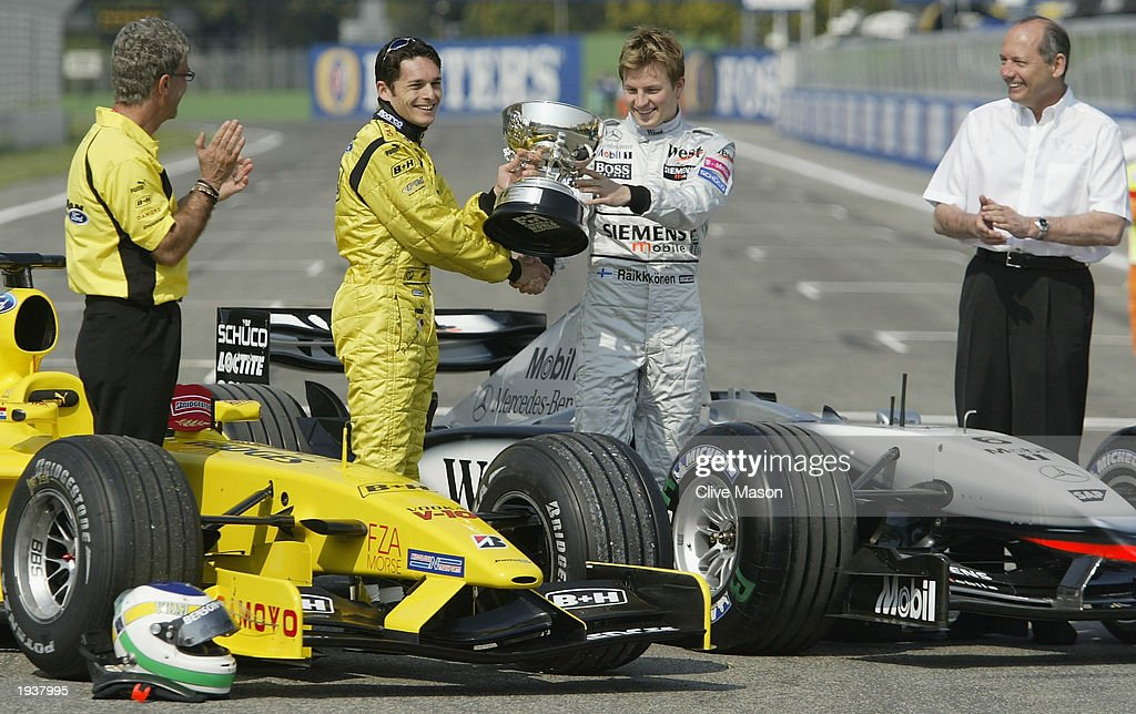 Brazil race winner trophy handed over : News Photo