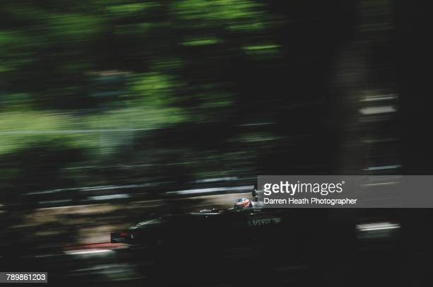 Kimi Raikkonen of Finland drives the West McLaren MercedesMcLaren MP417DMercedes V10 during the Formula One Canadian Grand Prix on 15 June 2003 at...