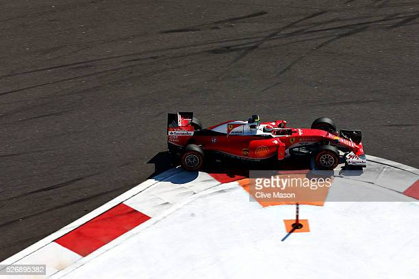 Kimi Raikkonen of Finland driving the Scuderia Ferrari SF16H Ferrari 059/5 turbo on track during the Formula One Grand Prix of Russia at Sochi...