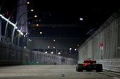 singapore kimi raikkonen finland driving scuderia