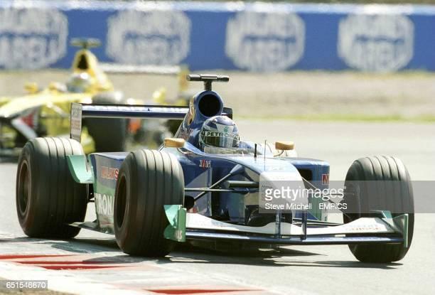 Kimi Raikkonen on his way to seventh place at the Italian Grand Prix
