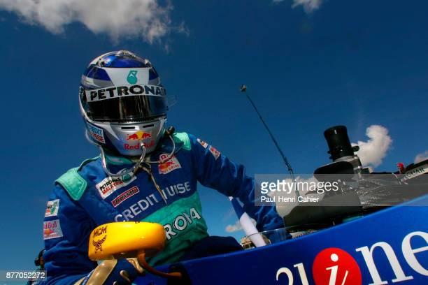 Kimi Raikkonen, Sauber-Petronas C20, Grand Prix of Great Britain, Silverstone Circuit, 15 July 2001.