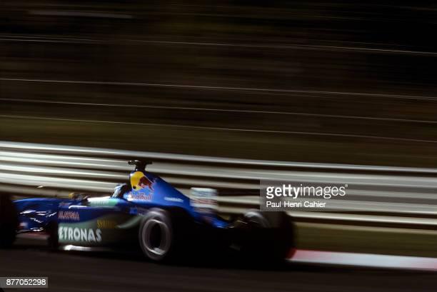 Kimi Raikkonen SauberPetronas C20 Grand Prix of Italy Autodromo Nazionale Monza 16 September 2001 Kimi Raïkkonen through Lesmo corner during practice...