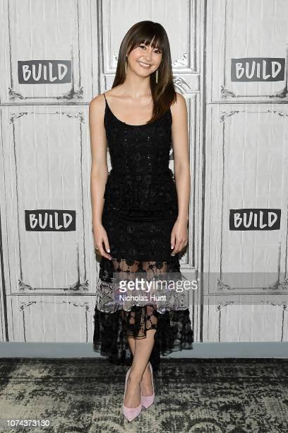 Kimiko Glenn visits Build on December 18 2018 at Build Studio in New York City