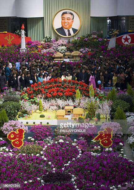 Kimilsungia Kimjongilia Exhibition in Pyongyang North Korea Every year in Pyongyang takes place the Kimjongilia festivalopened on the occasion of the...