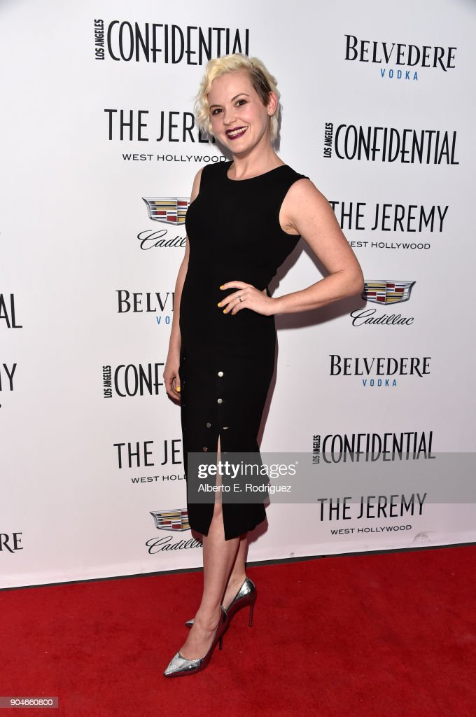 Kimmy Gatewood attends Los Angeles Confidential Celebrates 'Awards Issue' hosted by cover stars Alison Brie, Milo Ventimiglia and Ana De Armas at The Jeremy Hotel on January 13, 2018 in West Hollywood, California.